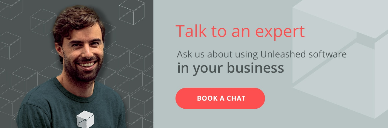 Talk to an expert. Ask us about using Unleashed software in your business