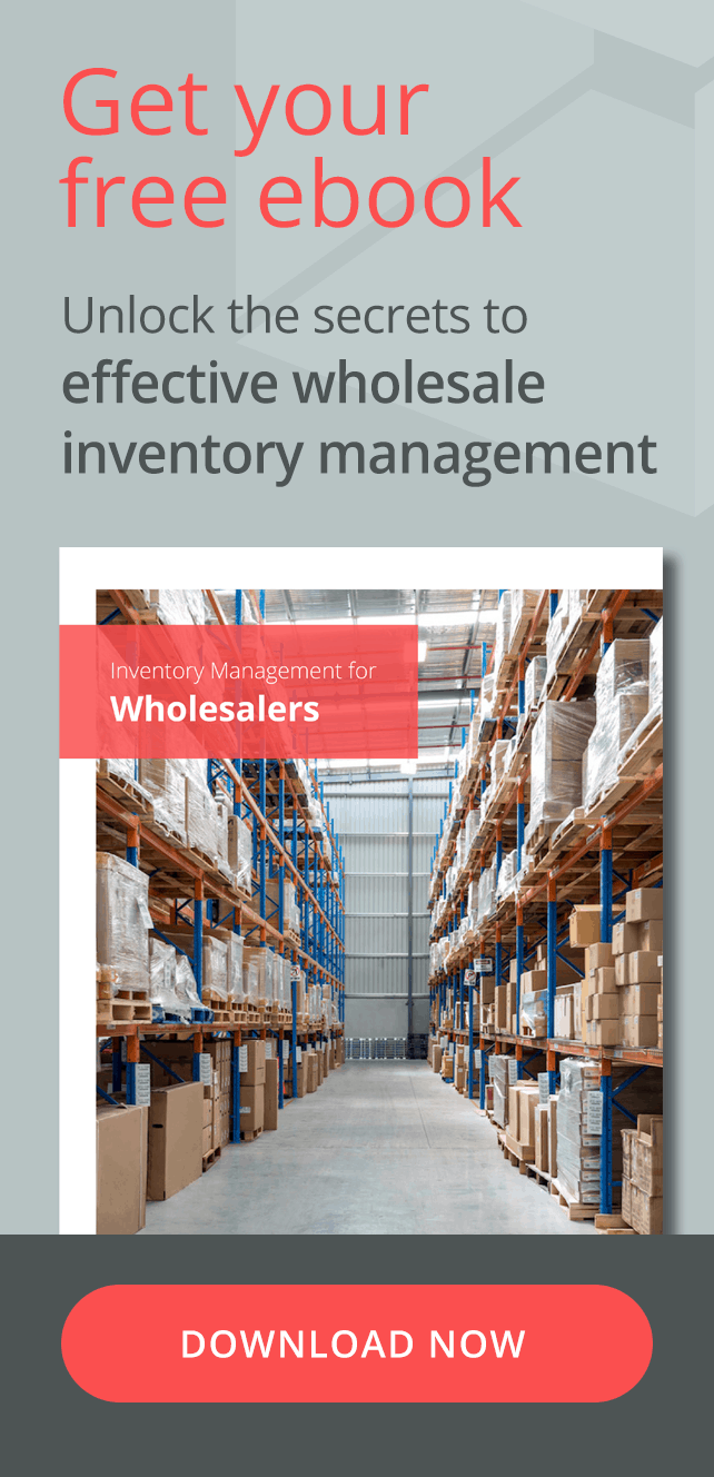 Get you free ebook. Unlock the secrets to effective wholesale inventory management. Click here to download the ebook now.