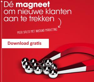 Download de gratis whitepaper: Dé magneet om nieuwe klanten aan te trekken - Meer Sales met Inbound Marketing