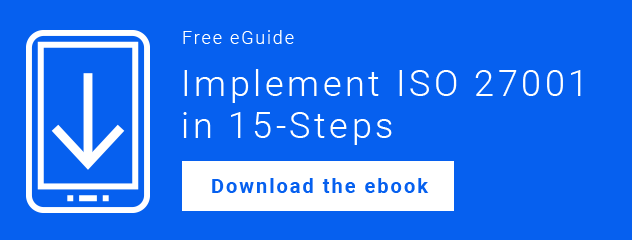 Download your guide to implementing ISO 27001