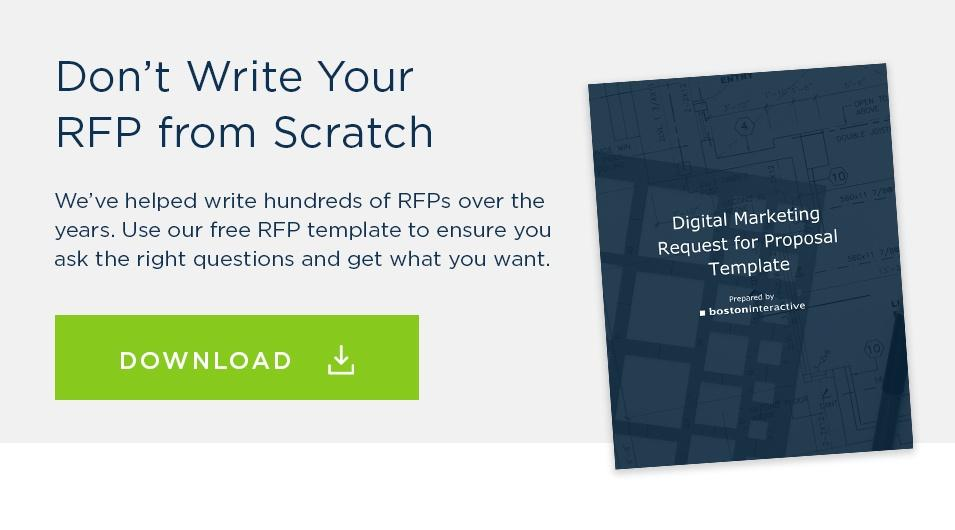 5 Mistakes To Avoid When Writing A Marketing Rfp