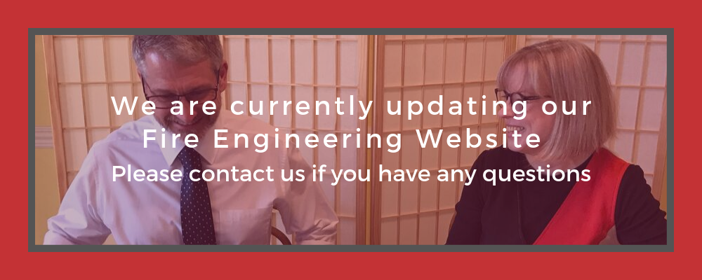 We are currently updating our Fire Engineering Website