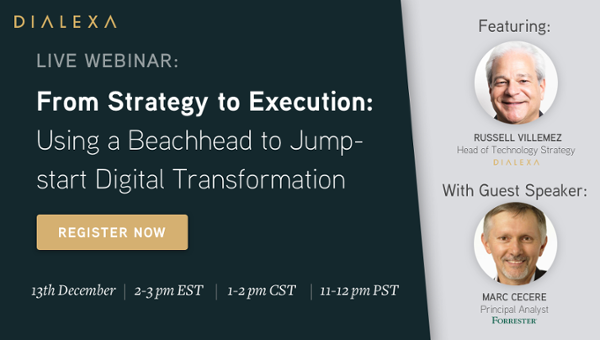 Webinar From Strategy to Execution - Register Now