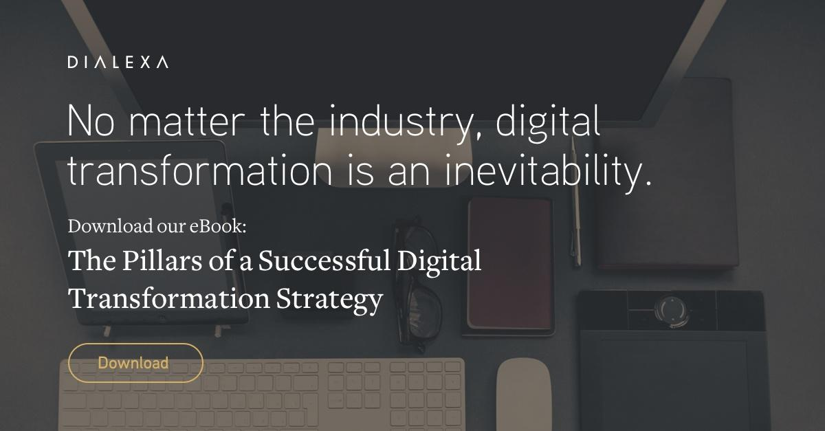 Download the Pillars of a Successful Digital Transformation Strategy White Paper