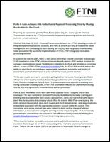 FTNI - Parks and Sons - Remote Deposit Capture Press Release