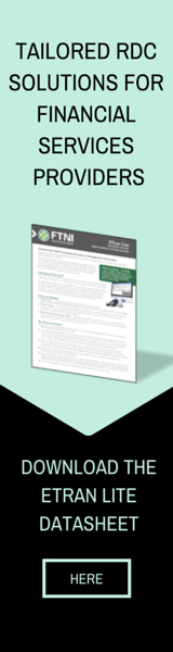 Financial Services-Focused Remote Deposit Capture RDC Solutions