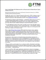 Javlin Capital - FTNI - Remote Deposit Capture Press Release
