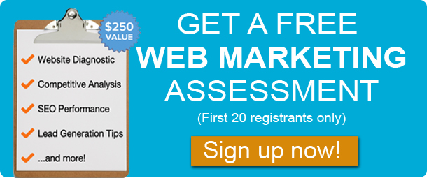 free web marketing assessment