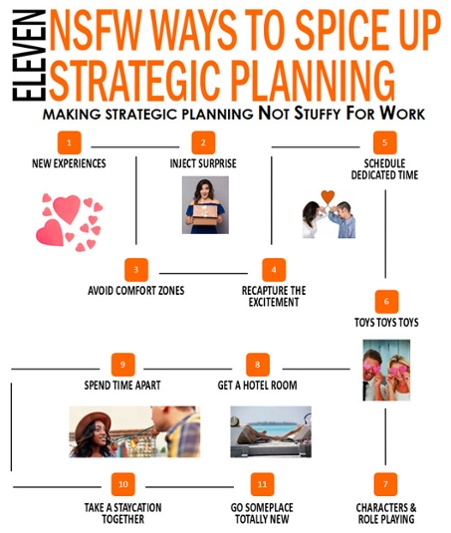 11 Hot Stuffy for Work Ways to Spice Up Strategic Planning