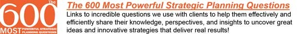 strategic planning questions