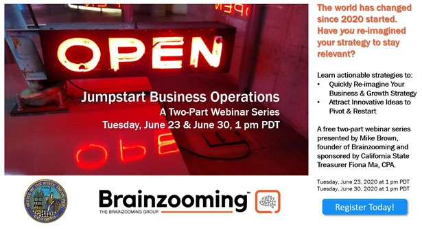 Jumpstart your business operations webinar series