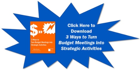 Turn Budget Meetings into Strategic Activities