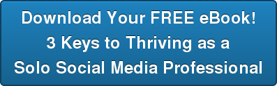 Download Your FREE eBook! 3 Keys to Thriving as a Solo Social Media Professional
