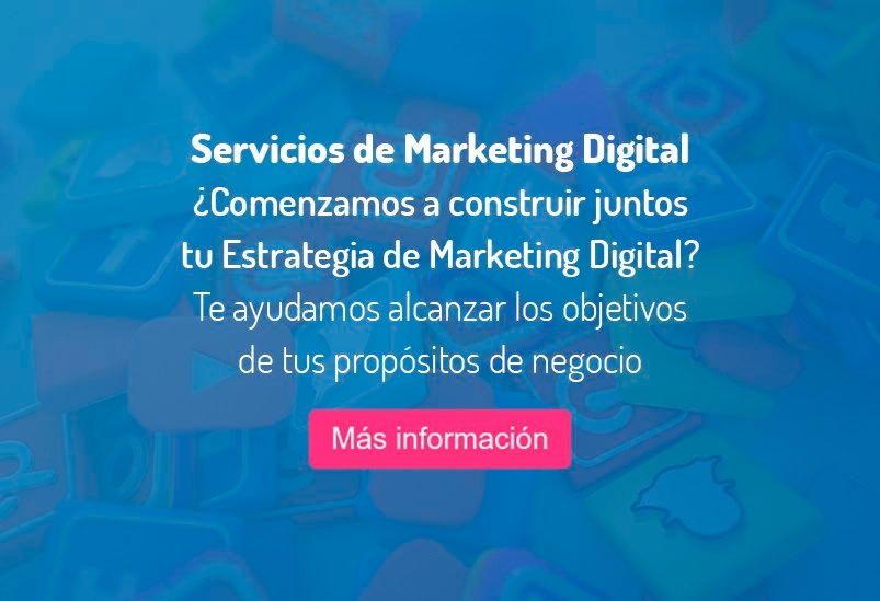 marketing digital servicios provisional