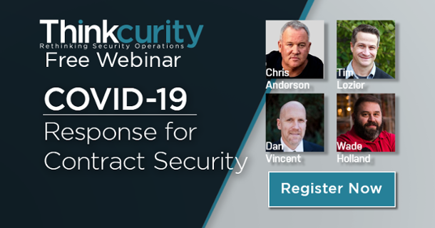 COVID-19 Contract Security Panel