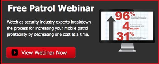 Free Mobile Patrol Webinar