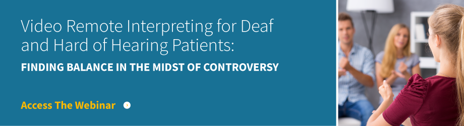 VRI for Deaf and HOH