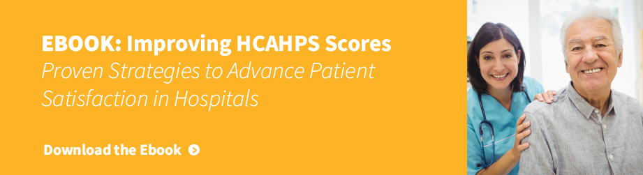e-book Improving HCAHPS scores through patient satisfaction