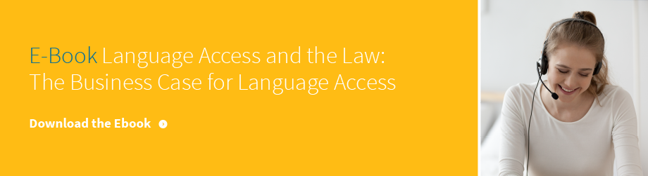 Language access and the law