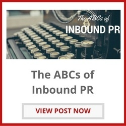 Learn the ABCs of Inbound PR