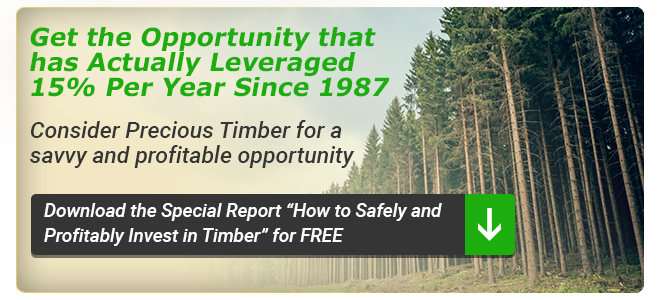 Consider Precious Timber for a Savvy & Profitable Opportunity