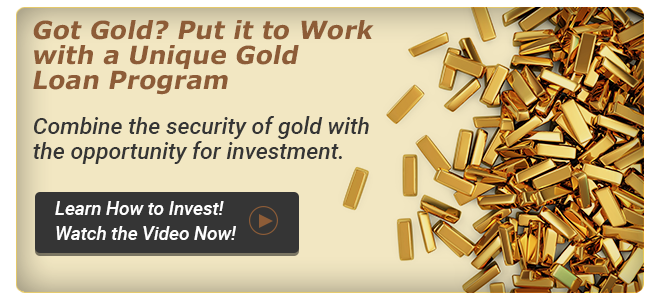>> Combine the security of gold with the opportunity for investment
