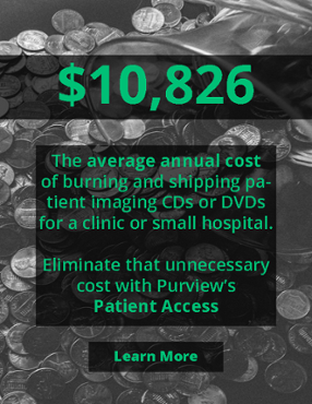 Save up to $10,000 by replacing patient imaging CDs with Purview's Patient Access