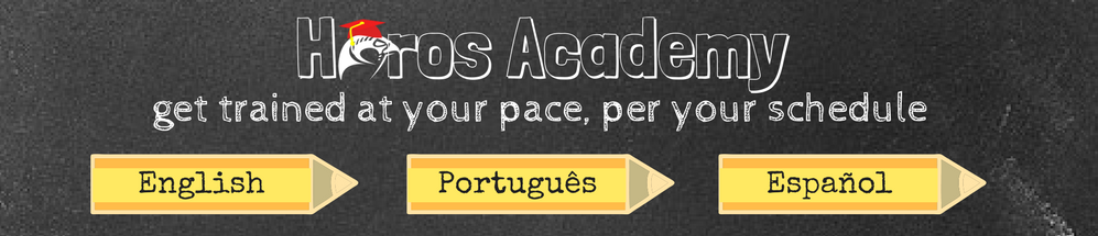 Horos Academy is now available in English, Portuguese, and Spanish