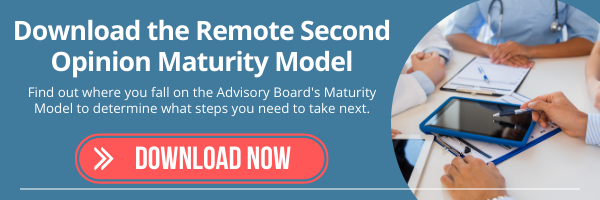 remote second opinion maturity model