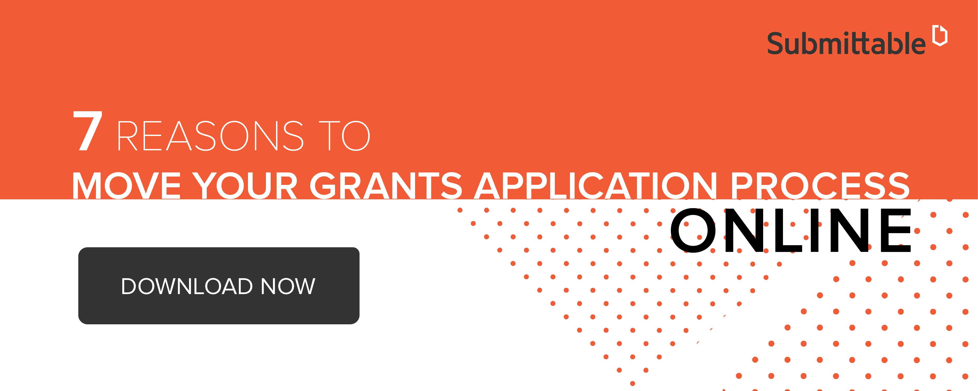 reasons to move your grants application process online