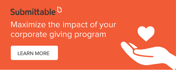 Maximize the impact of your corporate giving program