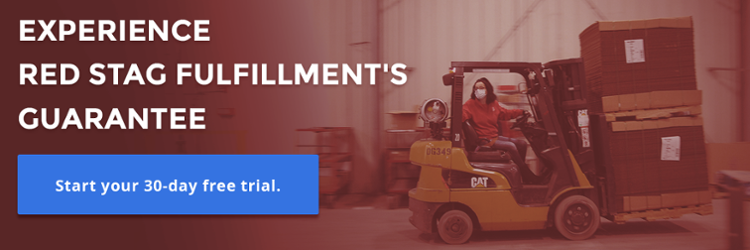 Red Stag Fulfillment guarantees