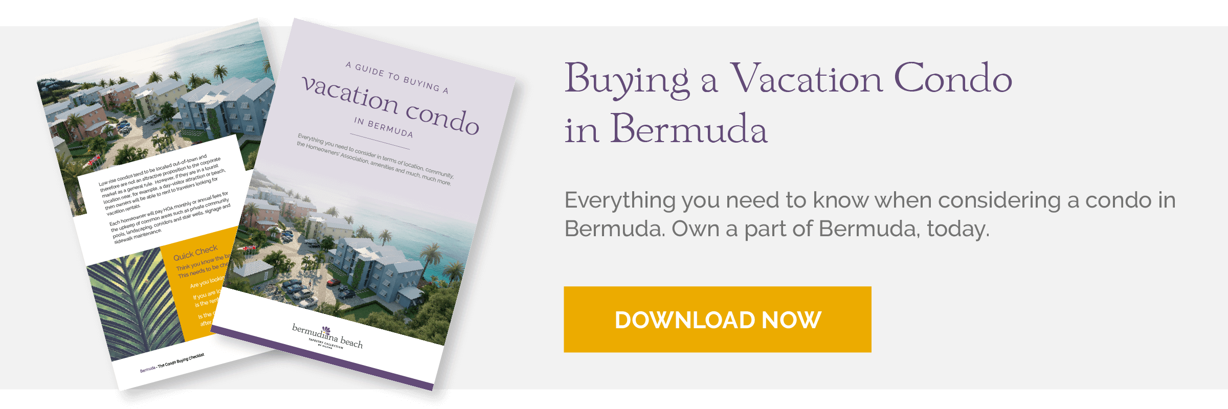 Buying a Vacation in Bermuda Guide