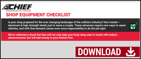 Chief Body Shop Checklist