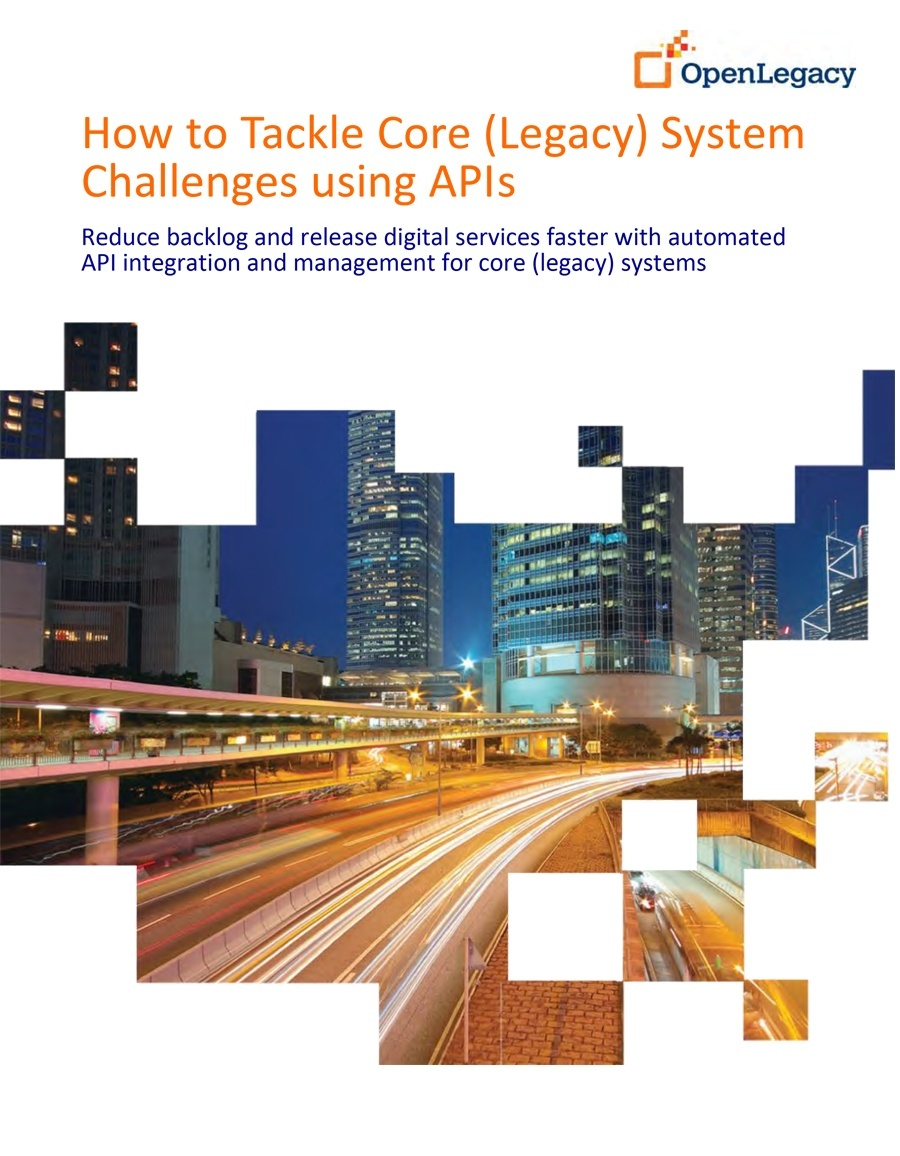 wp_How To Tackle Core (Legacy) System Challenges using API Software