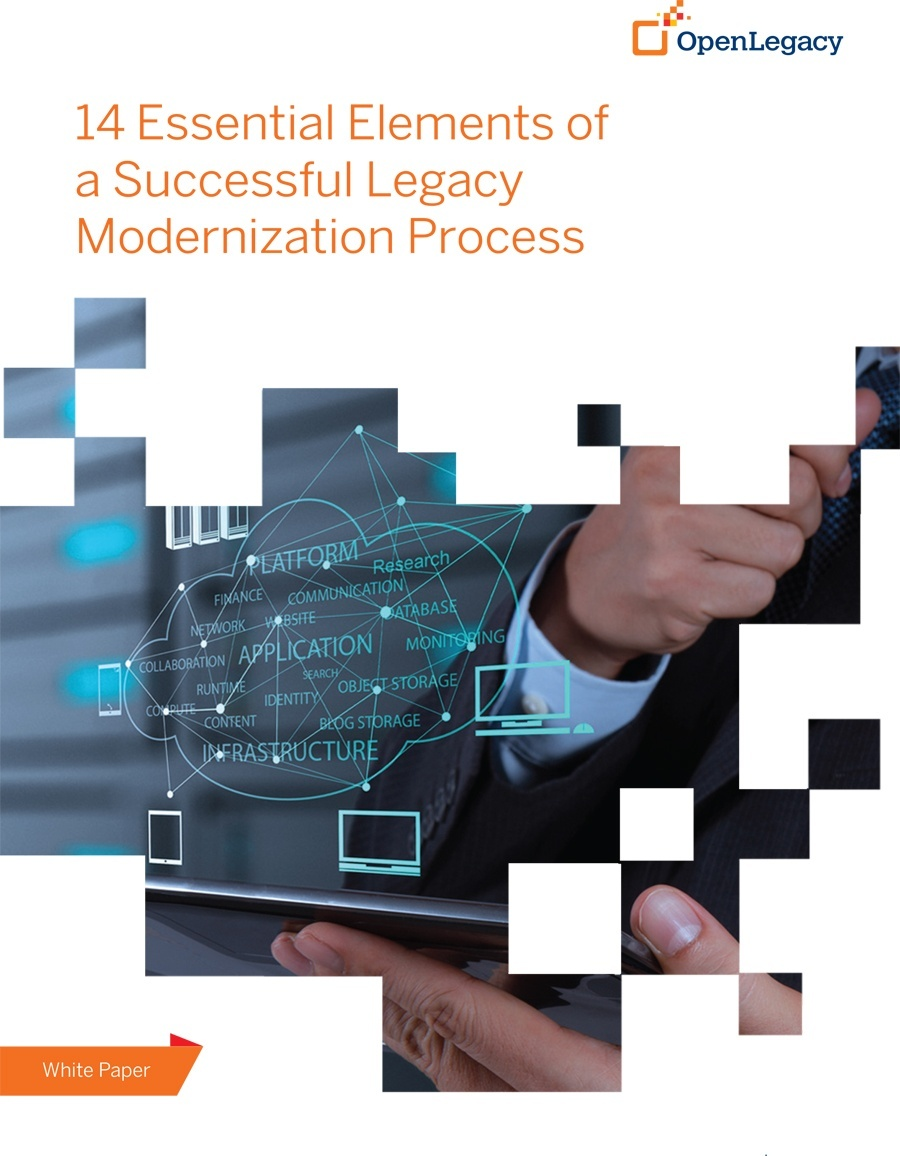 14 Essential Elements of a Successful Legacy Modernization Process