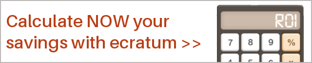 Calculate now your savings with ecratum