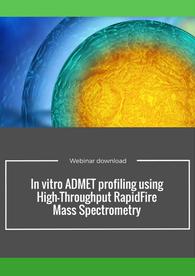 In vitro ADMET profiling using high throughput RapidFire mass spectrometry