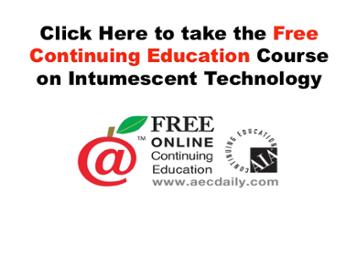 Click here to take the free continuing education course on intumescent technology