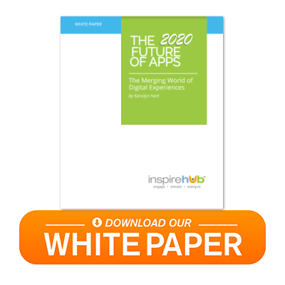 Download our 2020 Future of Apps White Paper