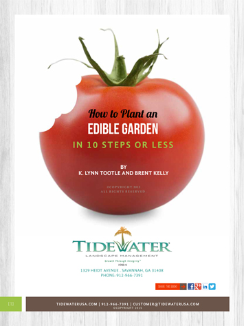 Free E-Book How To Plant an Edible Garden
