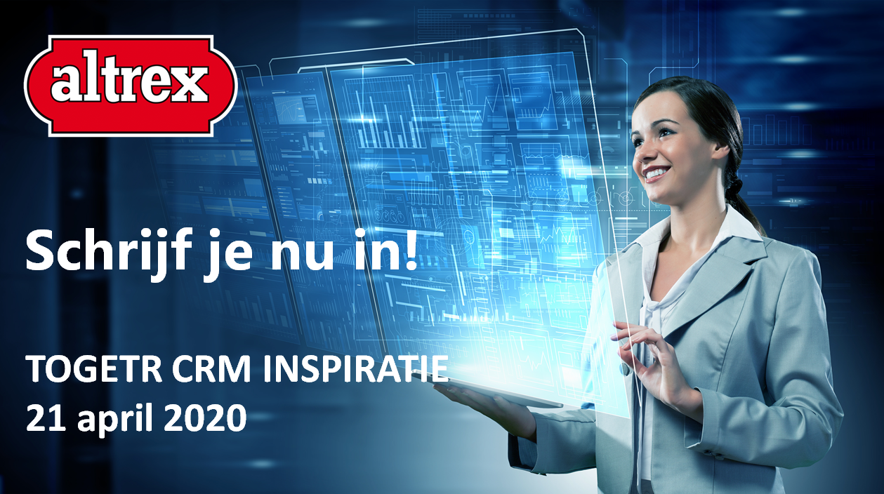 Altrex Togetr CRM Inspiratie Sessie 21 april 2020