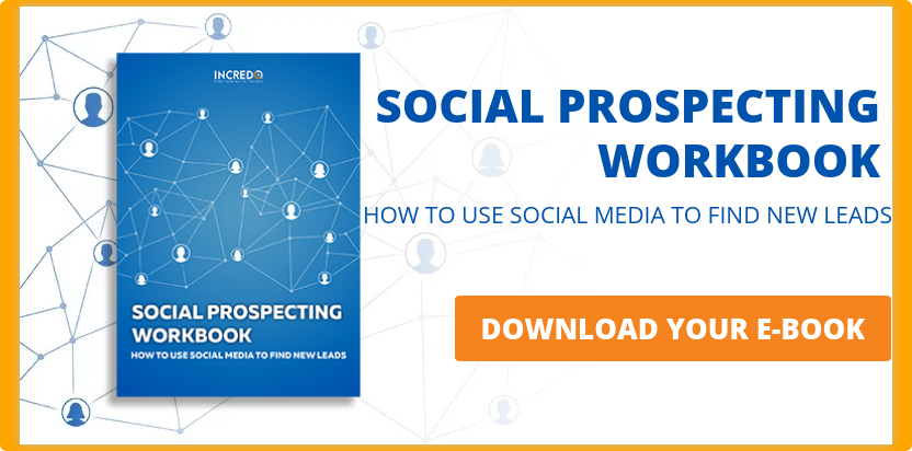 SOCIAL PROSPECTING WORKBOOK HOW TO USE SOCIAL MEDIA TO FIND NEW LEADS  DOWNLOAD YOUR E-BOOK