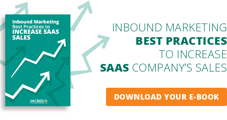 INBOUND MARKETING BEST PRACTICES  TO INCREASE SAAS COMPANY'S SALES  DOWNLOAD YOUR E-BOOK
