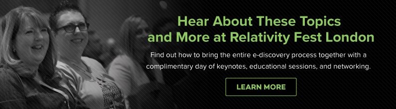 Learn More for Free at Relativity Fest London