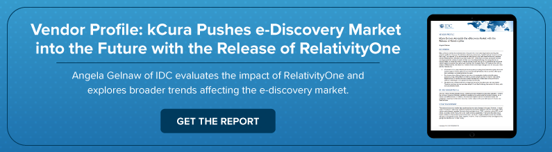 How RelativityOne is Pushing e-Discovery Into the Future