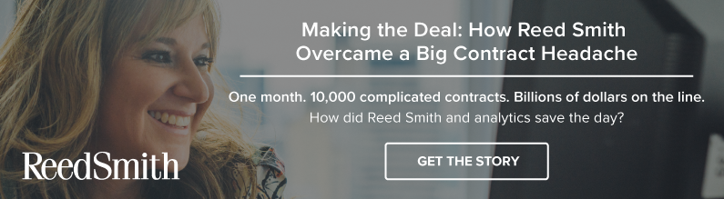 Making the Deal: How Reed Smith Overcame a Big Contract Headache