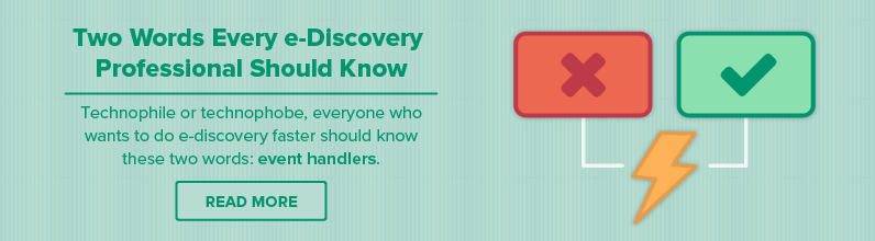 These Are Two Words Every e-Discovery Professional Should Know
