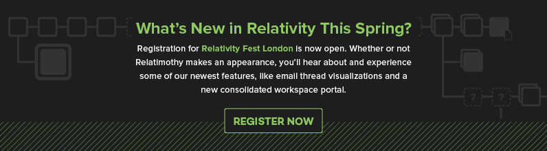 Discover What's New at Relativity Fest London