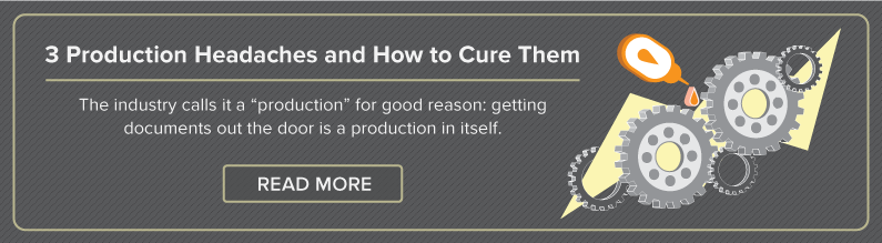 3 Production Headaches and How to Cure Them